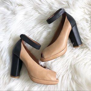 Jeffrey Campbell Chunky Color Block Heels